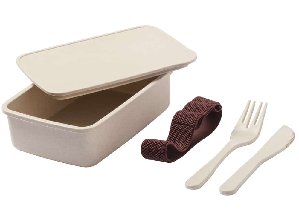 Lunch Box Eco personnalisable en fibre de bambou, Taxlam